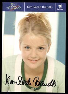 Kim-Sarah-Brandts-St-Angela-Autogrammkarte-Original-Signiert-BC-5819