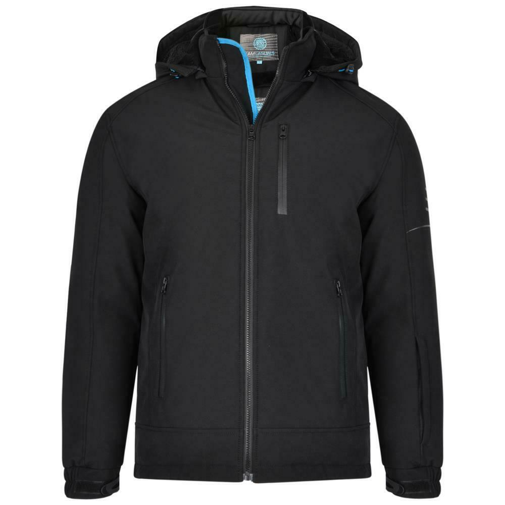 Da Uomo gree Diuominiione vento e impermeabile imbottito giacca Softshell pesanti 86 da parte di Kam