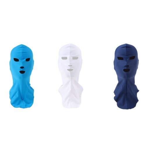Sonnenschutz Schwimmmaske Badekappe Facekini Tauch Cap UV Schutz Kopfbedeckung