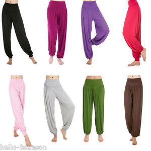 b61bd195c9 Chic Women Plus Size Yoga Pants Bloomers Dance Yoga TaiChi Full ...