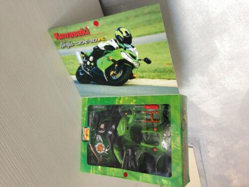 Kawasaki Ninja Zx-10r Zx 10r 10 R Sc.1 12 1//12 1-12 Montagesatz Maisto