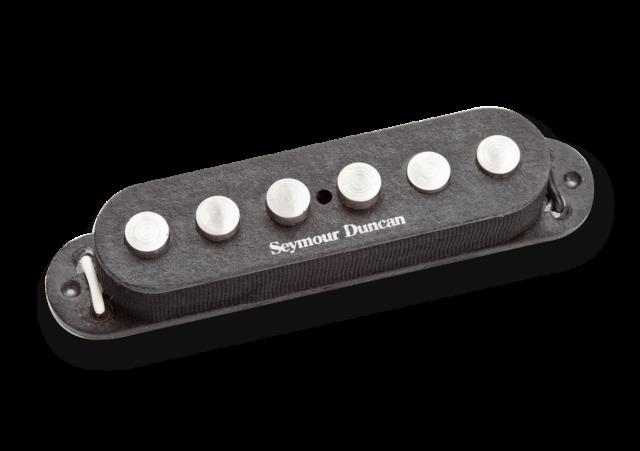 Seymour Duncan SSL-7 Quarter Pounder Staggered for Stratocaster, Black, 11202-09