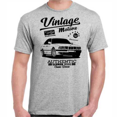 T-Shirt E 34 Oldtimer Youngtimer Vintage Auto