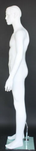5 ft 8 in White Male Mannequin Feature Face Small size WWI or II Uniform RO1WT