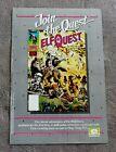 ELFQUEST #1 Comic 1985 Wendy Richard Pini PROMO WaRP Epic Marvel Poster VGFN