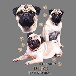 Not Pug Just a Dog Ladies Womens Small-4 X Large Ladies Tank Tops  8acd730850