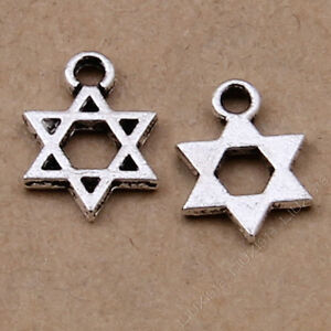 50pc-Charms-Star-Hexagram-Pendant-Bracelet-Accessories-DIY-Jewelry-Making-793H