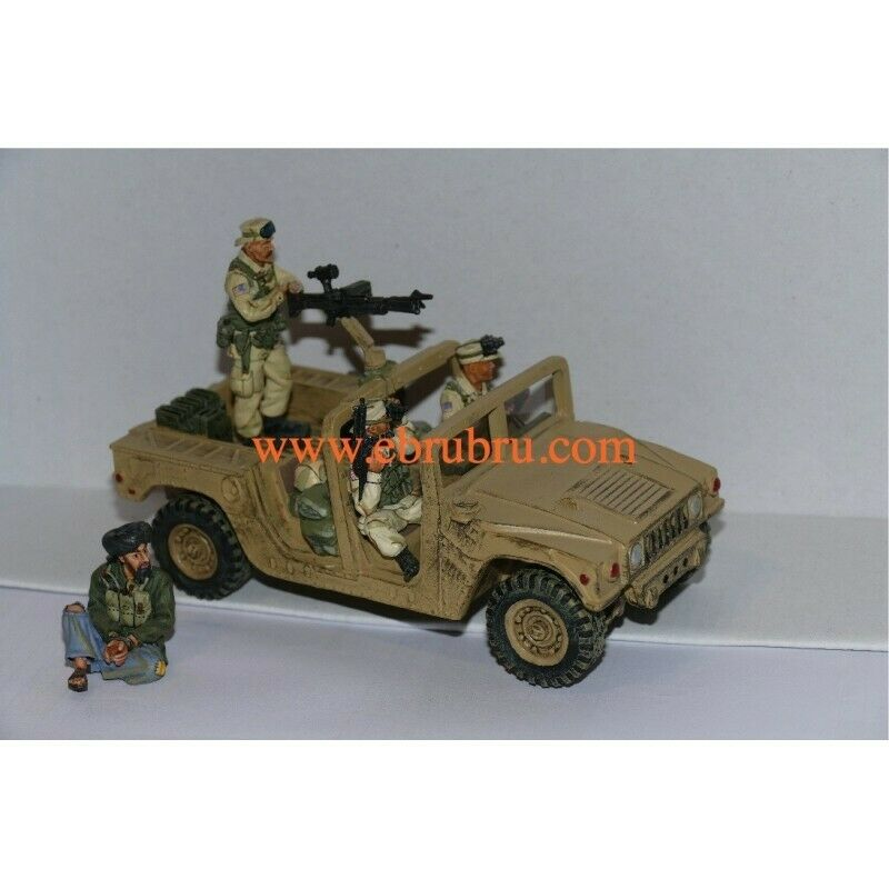 Special forces Iraq Afghanistan Humvee patrol king & country sf03