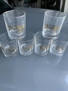 Set of 6 Saint Brendan's Irish Cream Liqueur Rocks Glass, St. Brendan,