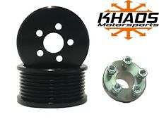 Supercharger Blower 30 Pulley Kit Ford F150 Svt Harley Mustang Cobra