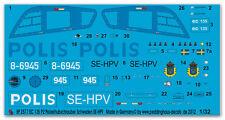 Peddinghaus 2577 1/32 EC 135 P2 Polizeihubschrauber Schweden SE-HPV