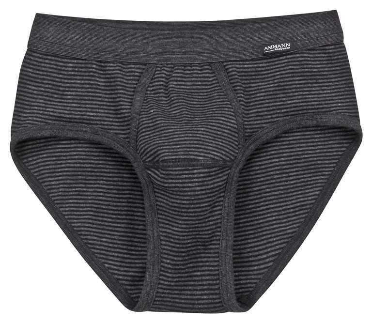3x    Ammann Herren Unterhose Slip mit Eingriff  170-839-183 anthrazit  Gr. 10  | Vogue  | Fein Verarbeitet  | Modisch  | Moderate Kosten  | Deutschland Shop  00c0e0