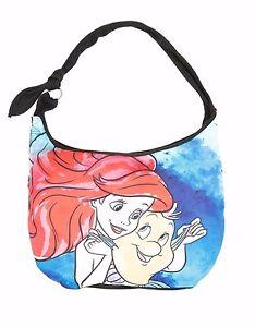 Disney The Little Mermaid Ariel Sketch Hobo Tote Beach Bag