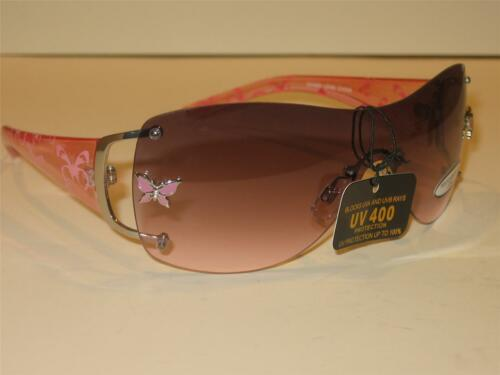 WOMENS NEW DESIGNER STYLE SUNGLASSES BUTTERFLY ARMS