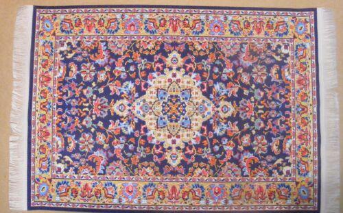 SCALA 1:12 27cm x 20cm Woven Tappeto turco tumdee Casa delle Bambole Tappeto Miniatura PLC