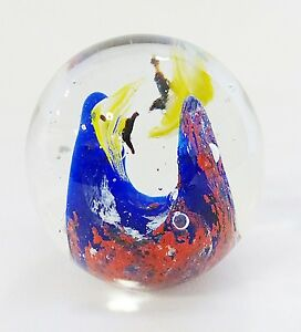 Image Is Loading Vintage Murano Art Glass Fish Aquarium Paper Weight