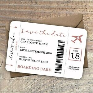 Personalised-Destination-Wedding-Save-the-Date-Boarding-Card-Pass-packs-of-10