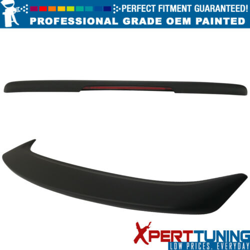 OEM Painted Color Fits 13-19 Sentra Factory Flash Mount Painted Trunk Spoiler