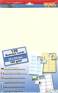 Decadry scb 7664 rib chamois business cards make your own business image is loading decadry scb 7664 rib chamois business cards make reheart Choice Image