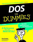 DOS For Dummies by Dan Gookin (Paperback, 1998)