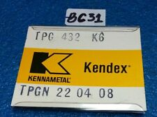 Kennametal Tpgn 22 04 08 Tpg 432 K6 Inserts 5 Pcs