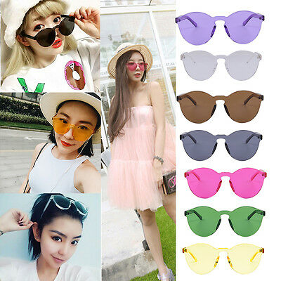 !~The New Korean Outdoor Plastic Sunglasses Retro Glasses Without Frame UV400~~!