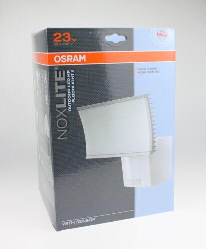 Ledvance LED-Außenleuchte NOXLITE mit Bewegungsmelder HPII 23W 2700K IP5 Osram