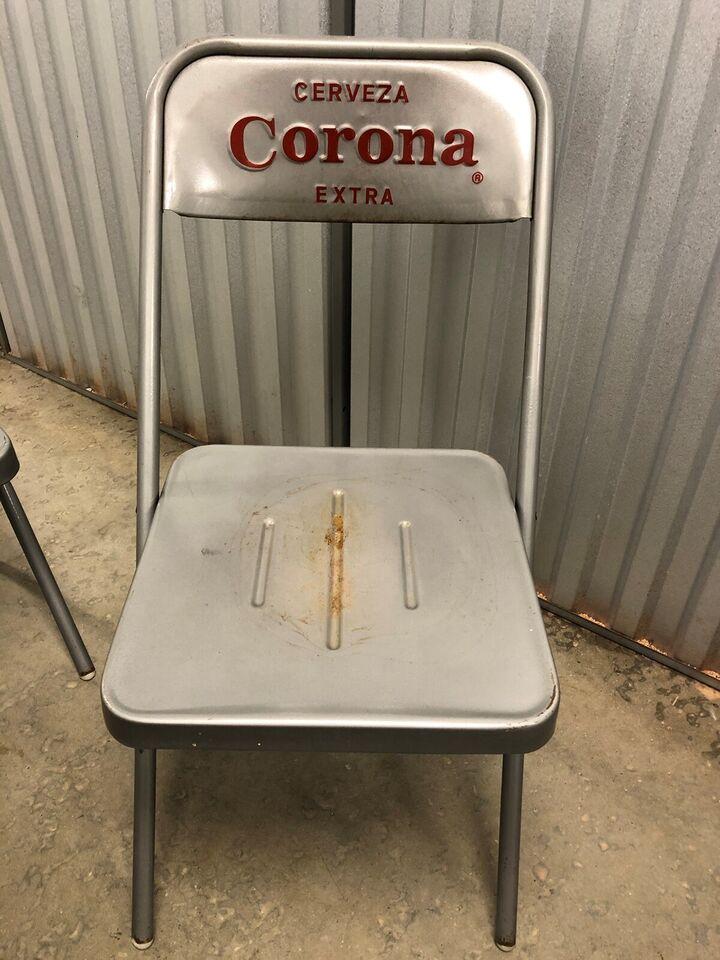 Havestole, Cerveza Corona, Pulverlakeret stål