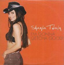 CD SINGLE 2 TITRES--SHANIA TWAIN--I'M GONNA GETCHA GOOD--2002