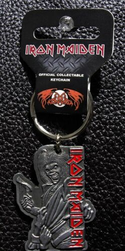 OFFICIAL KEYCHAIN IRON MAIDEN KILLERS METAL KEY RING