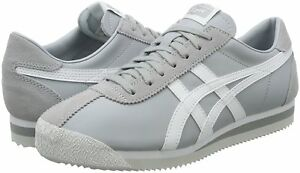 new concept c3c24 d0e72 Details about Asics Onitsuka Tiger TIGER CORSAIR shoes Mid gray × white  Japan New F/S