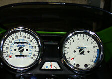 KAWASAKI ZRX 1100 1200 SPEEDO TACH REV COUNTER DIAL OVERLAY KIT FACES
