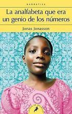 La Analfabeta Que Era un Genio de Los Numeros by Jonas Jonasson (2016,...
