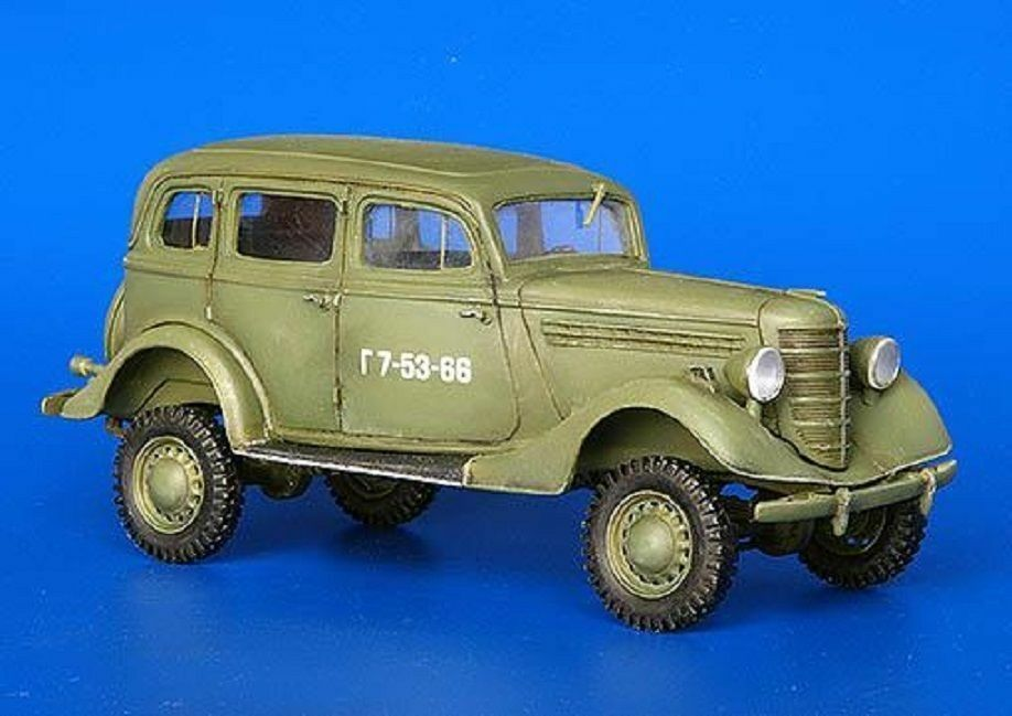 PLUS MODEL COMPLETE KIT GAZ 61-73 4X4  Scala 1 35 Cod.PL239