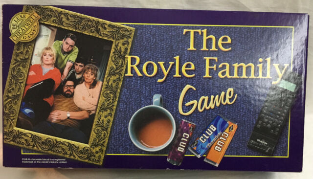 THE ROYLE FAMILY GAME CHEATWELL GAMES 2000 - Never Played