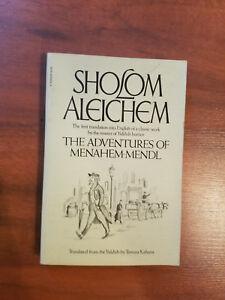 Sholom-Aleichem-The-Adventures-of-Menahem-mendl-paperback