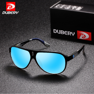 DUBERY Men Polarized Sport Sunglasses Outdoor Driving Riding Summer Goggles Hot
