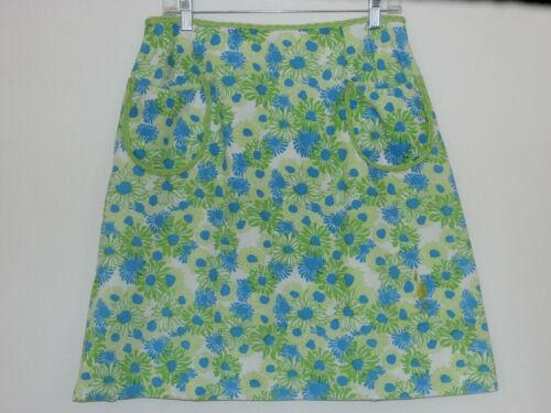 Lilly Pulitzer Vintage Skirt SZ 8 The Lilly Blue … - image 1
