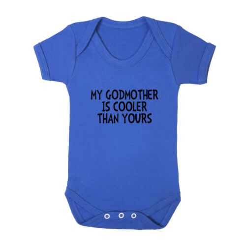 My Godmother Is Cooler Than Yours Cotton Baby Bodysuit One Piece
