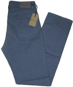 Pantalone-uomo-jeans-HOLIDAY-46-48-50-52-54-56-58-60-cotone-estivo-avio-ETAN