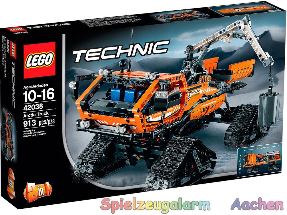 LEGO technic  42038 Arctique chaînes véhicule Artic camion le hot rod 2in1 modèles OVP  belle