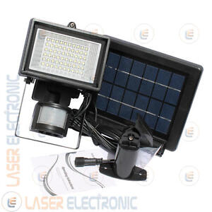 Sistemi Di Illuminazione Per Esterni.Dettagli Su Sistema Di Illuminazione Per Esterno Con Batteria Ricaricabile Litio Sensore Pir