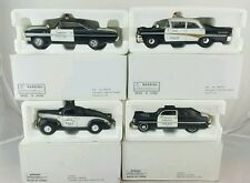 MOTOR MUSEUM 1958 FAIRLANE 64 GALAXIE 49 MERCURY POLICE CAR 1/32 LOT OF 4 (R