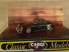CORGI CLASSICS D742 - PORSCHE 356B HARD TOP - BLACK
