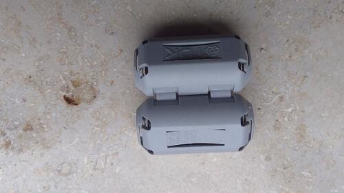 10x entstörkern ESK 1 per a posteriori aufklemmen su Cavo di collegamento di tutti i tipi
