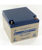 Power Sonic 12v 26ah Agm/gel Deep Cycle Sealed Rechargeable Golf Trolley Battery