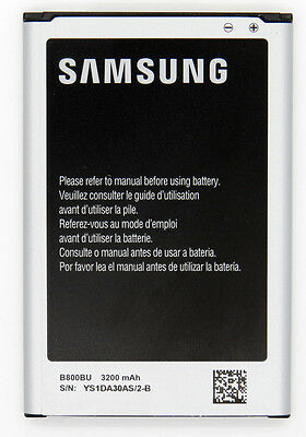 NEW Original Samsung Galaxy NOTE 3 / III B800BU AT&T Verizon 3200mAH OEM BATTERY