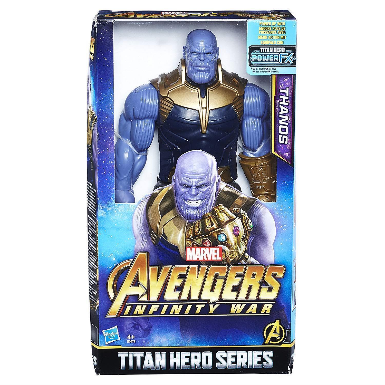 AVENGERS Marvel Infinity Stones War Titan Hero Series Thanos Action Figure
