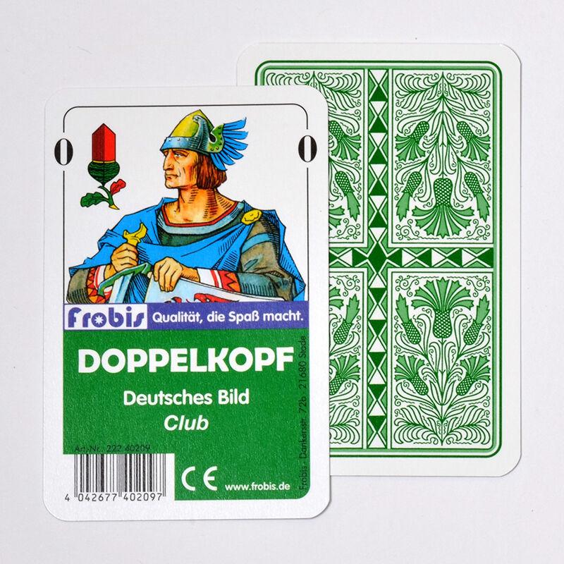 25 Doppelkopfspiele Club Deutsches Bild, Kornblume Doppelkopfkarten von Frobis
