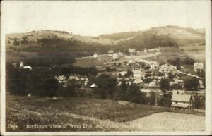 Jeffersonville-NY-Birdseye-View-of-West-End-c1910-Real-Photo-Postcard